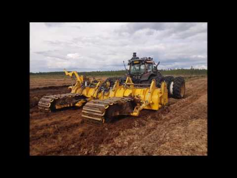JPF Peat Oy  peat bog clearing and field milling services