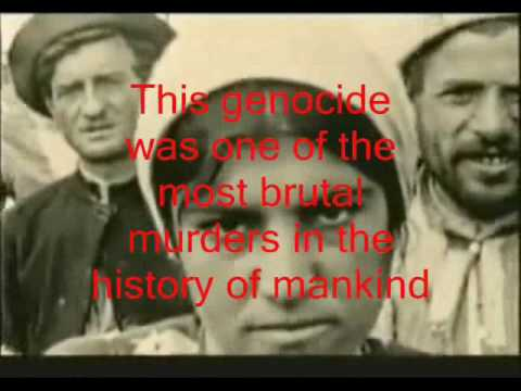 Never forget the genocide of the Armenians, Arameans and Greeks
