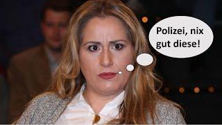 Idil Baydar gibt der Polizei die Schuld für Stuttgarter Partynächte (Maybrit Illner)