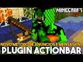 Minecraft Plugin Tutorial ActionBar - Novo metodo de anúncios e mensagens