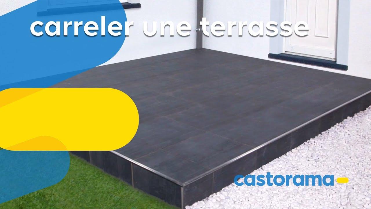 Poser Une Terrasse En Carrelage Castorama