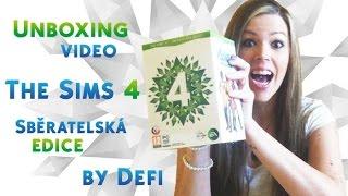 Unboxing The Sims 4 - Sběratelská edice