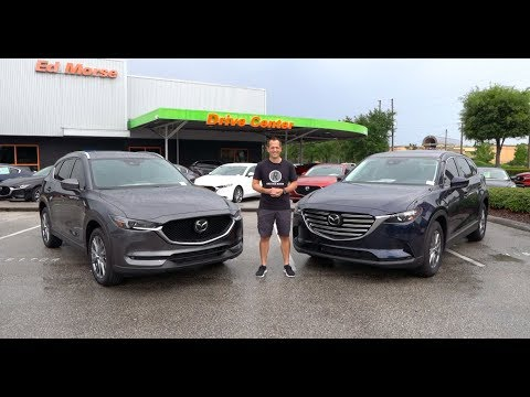 Which Mazda SUV is the better BUY? 2019 CX-5 Signature or CX-9 Touring