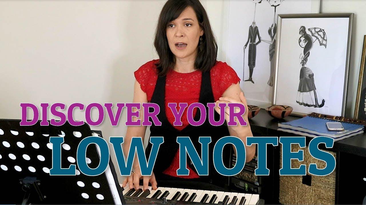 Discover Your Low 'Voices' - Singer's Secret - Nicola Milan