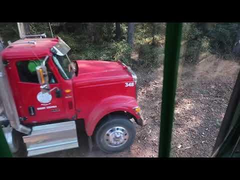 2 brand new International log trucks & the mill shut down