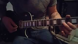 The Darkness Stampede of Love guitar solo lesson