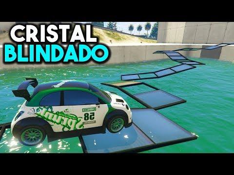 CAMINO DE CRISTALES QUE SE ROMPEN! - CARRERA GTA V ONLINE - GTA 5 ONLINE