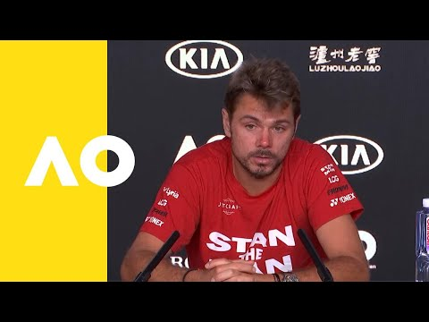 Stan Wawrinka press conference (2R) | Australian Open 2019 ...