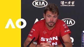 Stan Wawrinka press conference (2R) | Australian Open 2019