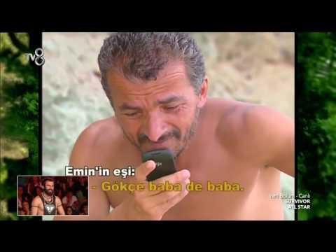 Survivor Emin'in dünyanın en komik telefon görüşmesi