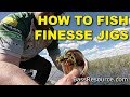 How To Fish Finesse Jigs (The Best Ways) | Bass Fishing