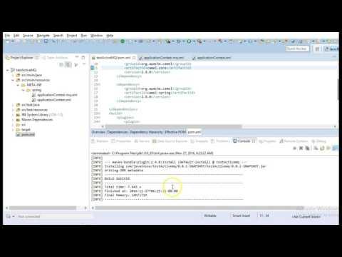 JBoss Fuse Tutorials-Apache Camel+Spring+ActiveMQ+JBoss Fuse