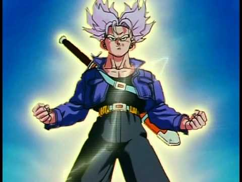 trunks super saiyan vs mecha freeza audio japones sub