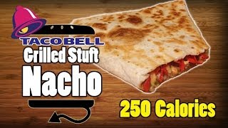 Taco Bell Grilled Stuft Stuffed Nacho Recipe Remake - Hellthyjunkfood
