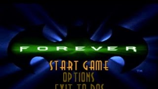 Batman Forever: the Arcade Game gameplay (PC Game, 1996)
