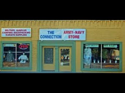 My Local Army Surplus Store Walkthrough, The Connection Army Navy Store