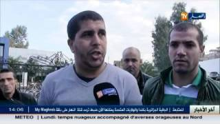احتجاج تجار محلات سيدي عبد الله بالعاصمة و هذا ردّ المسؤول عن المدينة عليهم..