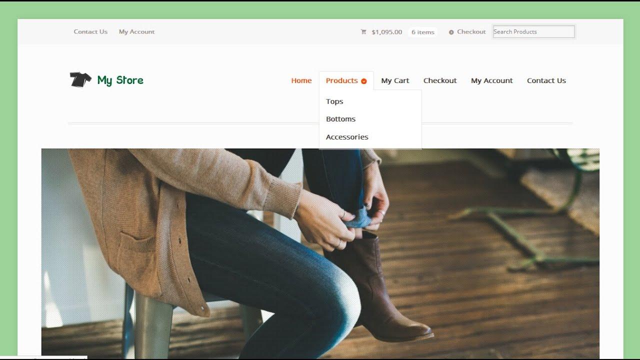 online ecommerce store