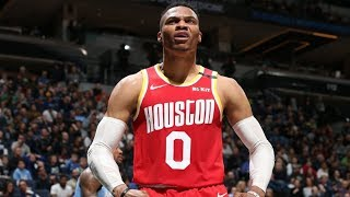 Russell Westbrook 45 Pts Without Shooting a 3! 2019-20 NBA Season