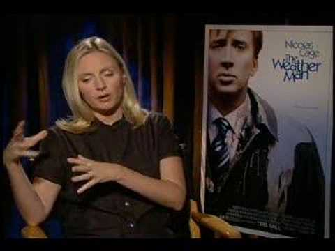 Hope Davis interview for The Weatherman