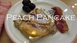 Clafoutis for Breakfast: Late Summer Peach Pancake