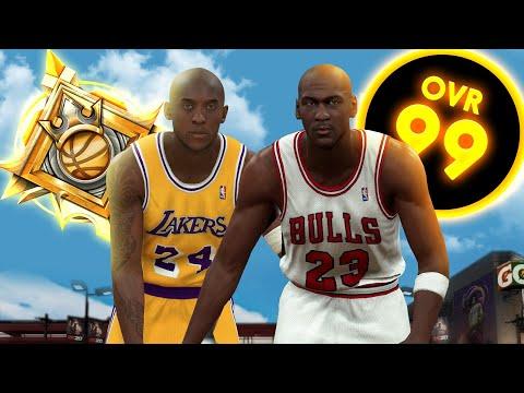 LEGEND KOBE BRYANT and MICHAEL JORDAN in NBA 2K20 |