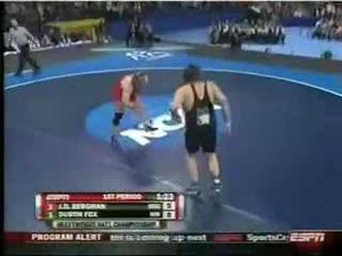 2008 Finals 285: Fox (Northwestern) -Bergman (Ohio St) Pt 1