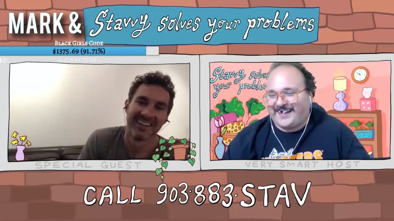 Mark and Stavros Halkias solve your problems!