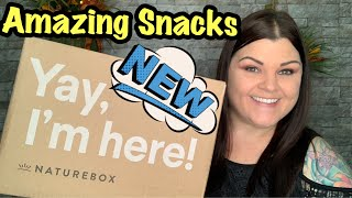 Nature Box // Unboxing & Taste Testing Review +Coupon Code