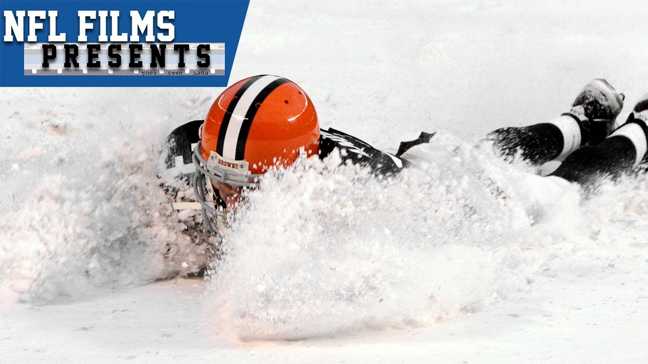 712de8e8 A Snowy Winter Wonderland: Football's Perfect Condition | NFL Films Presents