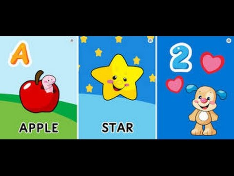 Laugh and learn learning letters puppy ABC song, shapes, colors, Fisher price ,123 and fun songs