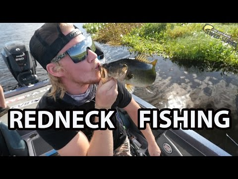 Hilarious - Redneck Bass Fishing Challenge (Ft. OUTLAW, BLACKTIPH, LAKE FORK GUY, SLONE, COX)