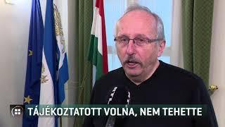 Niedermüller Péter tájékoztatott volna, nem tehette  20-02-29