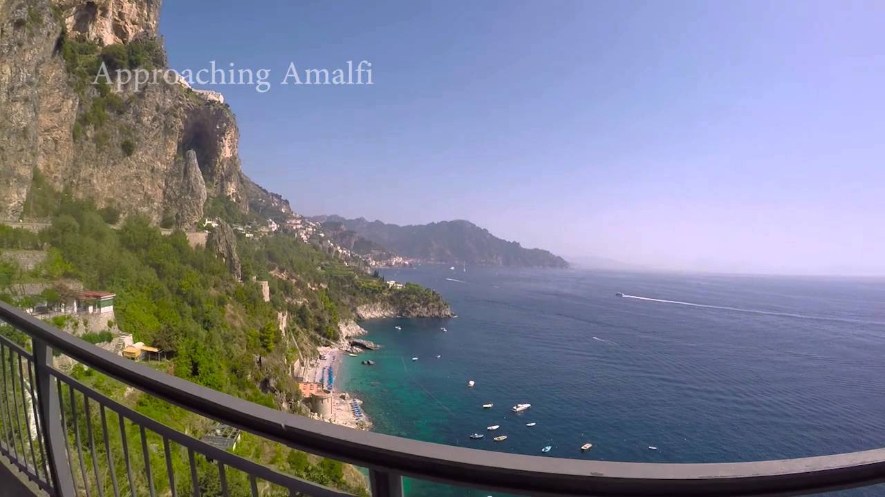 Driving The Amalfi Coast Road