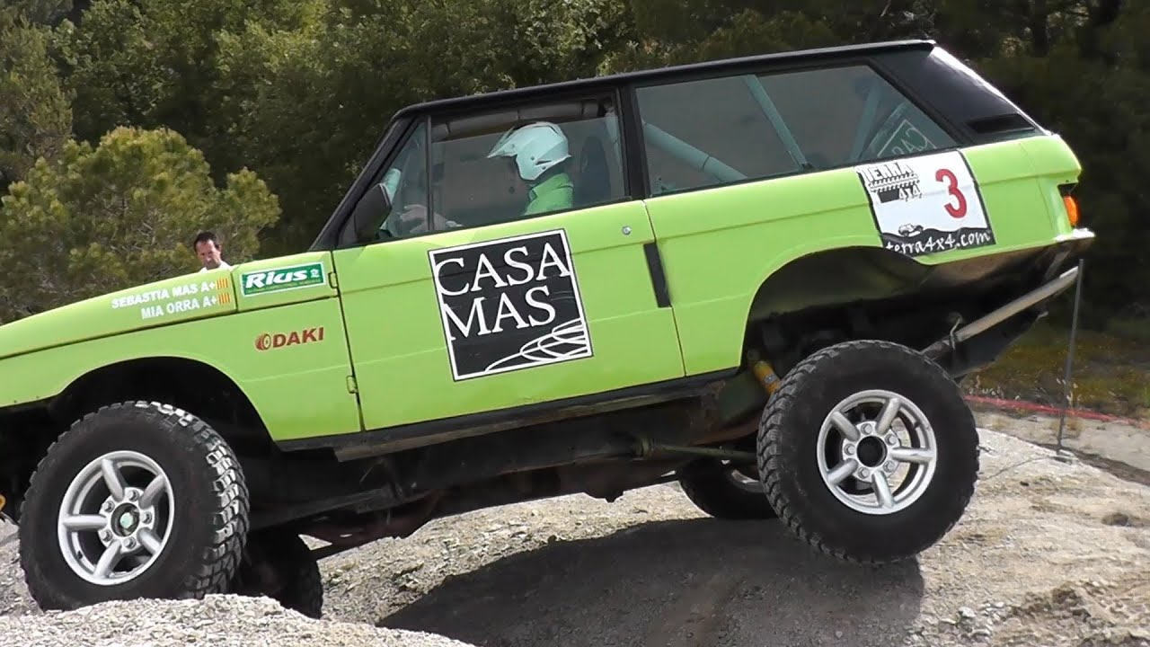 Land Rover Range V8 Off Road Trial 4x4 Youtube