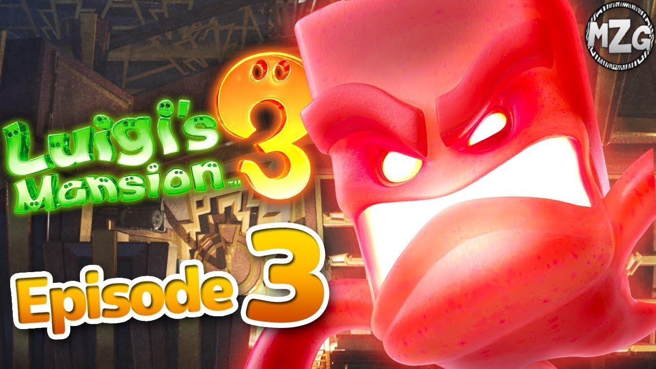 Kruller Boss 3f Hotel Shops Luigi S Mansion 3 Gameplay Walkthrough Part 3