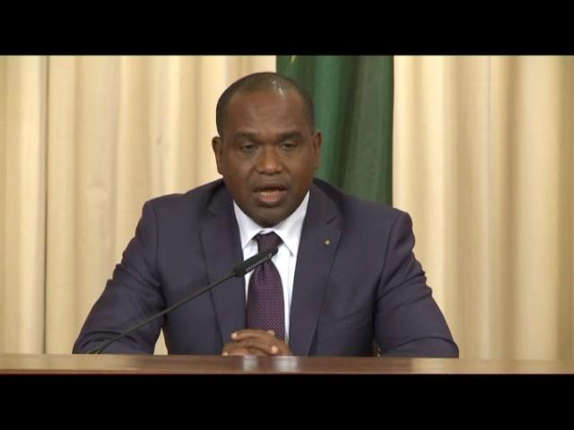 Пресс-конференция С.Лаврова и главы МИД Буркина-Фасо