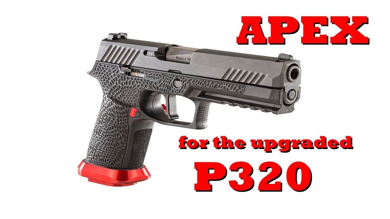 The New APEX Triggers for the Upgraded Sig P320 – Gun Stock Reviews