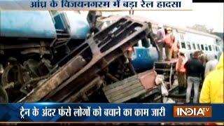 Jagdalpur Bhubaneswar Express derails in Andhra Pradesh, death toll reaches to 26