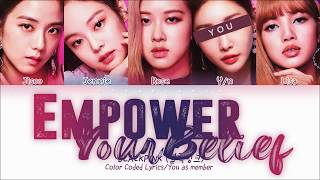 Download lagu How Would BLACKPINK sing — Empower Your Belief with 5 members | 블랙핑크