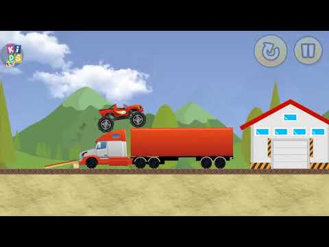 Blaze The Monster Truck Racing - Fun Monster Machines Android Game For Kids