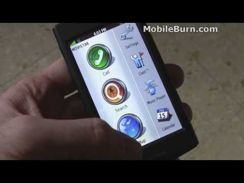 Garmin-ASUS nuvifone G60 live hands-on
