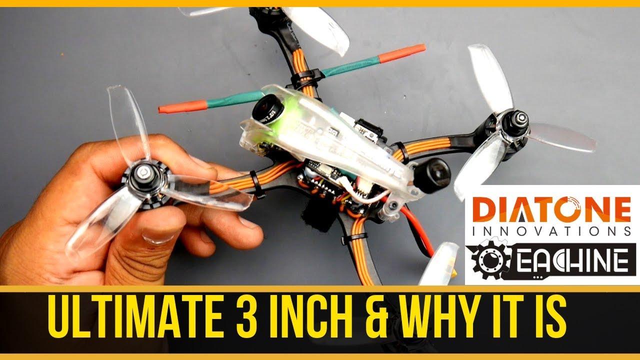 Best Beginner FPV Drone Rocket // EACHINE & DIATONE ER349 Fast, Durable,  Budget