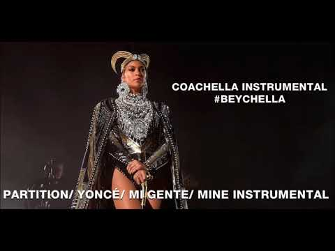 Beyoncé - Partition/ Yoncé/ Mi Gente/ Mine (Live Instrumental)