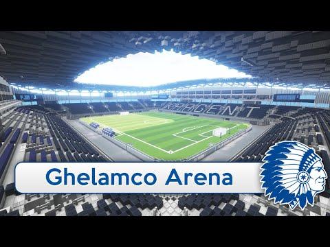 Minecraft - MEGABUILD - Ghelamco Arena (KAA Gent) + DOWNLOAD [Official]