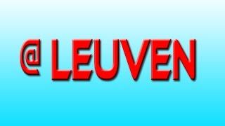 Kom van dat dak af! jonas van geel en jelle cleymans optreden @ Leuven
