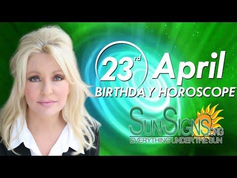 Birthday April 23rd Horoscope Personality Zodiac Sign Taurus Astrology