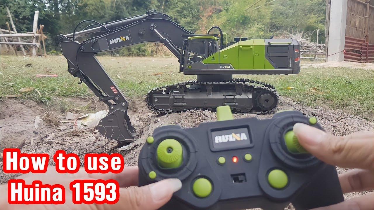 Download How to Huina 1593 Excavator.