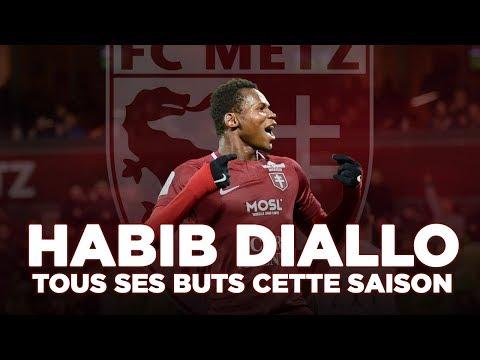 Domino's Ligue 2 : Les 26 buts d'Habib Diallo cette saison