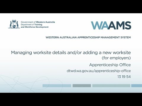 Apprenticeship Office | Department of Training and Workforce ...